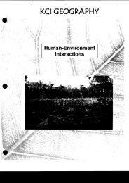 Human Environment Interactions Unit.pdf - Kitchener-Waterloo ...