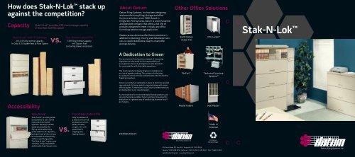 Stak-N-Lok™ - Plano Office Supply