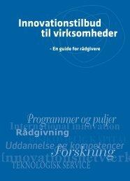 Innovationstilbud til virksomheder - Dansk Erhverv