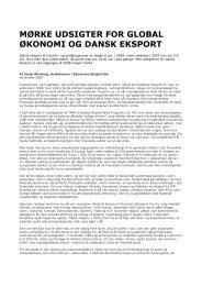 Mørke udsigter for global økonomi og dansk eksport