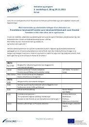 3. workshop d. 28 og 29.11.2011