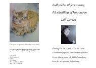 Om kunstneren Lilli larsen 4 - Kalundborgegnens Erhvervsråd