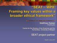 8. Ethical Framework – Mathias Kaiserr - SEAT Global