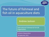 The future of fishmeal and fish oil in aquaculture diets - SEAT Global