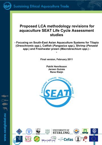 D3.2 Report on LCA methodology - SEAT Global