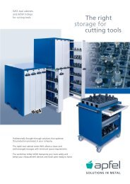 storage for cutting tools The right - Apfel Gmbh