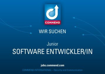 Junior Software Entwickler/in