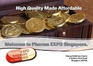 Pharma EXPO Singapore. High Quality Made Affordable - Hapa