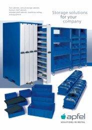 Tool Cabinet Sets - Apfel Gmbh
