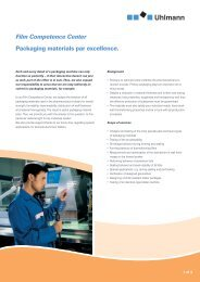 Packaging materials par excellence. Film Competence Center