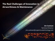 The Real Challenges of Innovation in Airworthiness and Maintenance