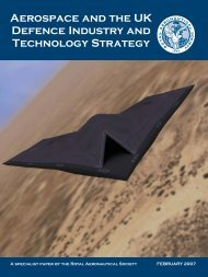 DTS Paper.qxp - Royal Aeronautical Society