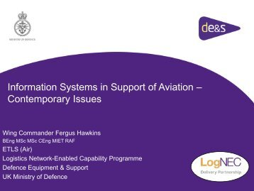 Information System in Support of Aviation