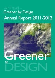 Greener by Design Annual Report 2011-2012 - Royal Aeronautical ...