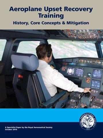 Aeroplane Upset Recovery Training - Royal Aeronautical Society