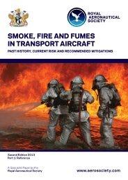 smoke, fire and fumes in transport aircraft - Royal Aeronautical Society