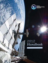RAeS Handbook - Royal Aeronautical Society