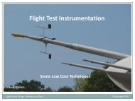 Low Cost? - Flight Test Instrumentation