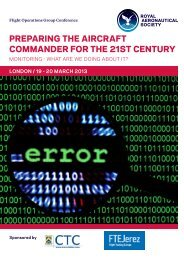 preparing the aircraft commander for the 21st century - Royal ...