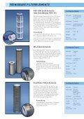 Prospekt Industriefilterelemente - Apic Filter Gmbh - Seite 3