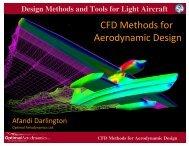 CFD Methods for Aerodynamic Design