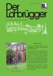 Seite 2 Juni 2011 - Bürgerverein Lohbrügge