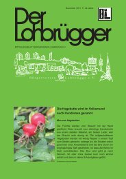 Seite 2 November 2011 - Bürgerverein Lohbrügge