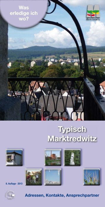 Adressverzeichnis - Stadt Marktredwitz