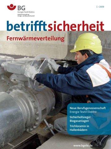 Fernwärmeverteilung - BG ETEM B-EW