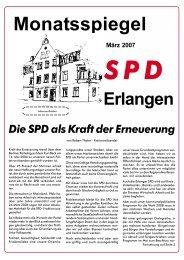 Monatsspiegel - SPD Erlangen