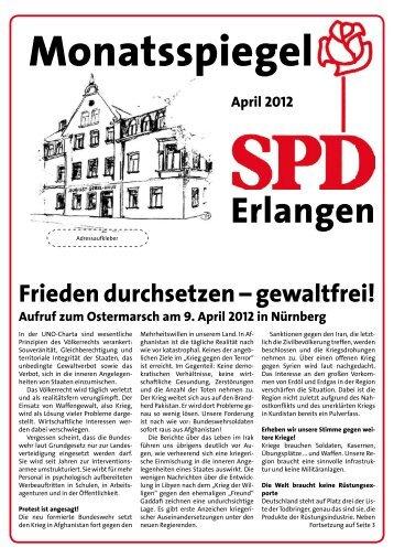 Ausgabe April 2012 - SPD Erlangen