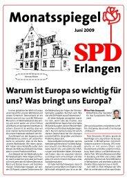 Ausgabe Juni 2009 - SPD Erlangen
