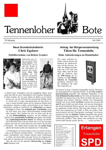Chris Egelseer - SPD Erlangen