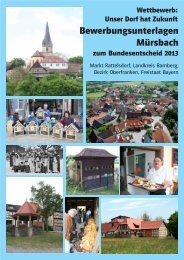 Mürsbach/BY (PDF-Datei) - Unser Dorf hat Zukunft