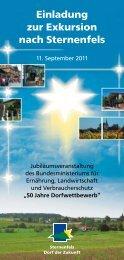 Exkursionsflyer (PDF-Datei) - Unser Dorf hat Zukunft