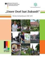 50 Jahre Dorfwettbewerb 1961-2011 - Unser Dorf hat Zukunft - Bund ...