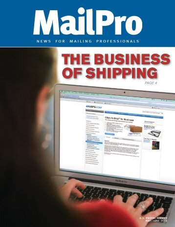 MailPro May/June 2012 - USPS.com