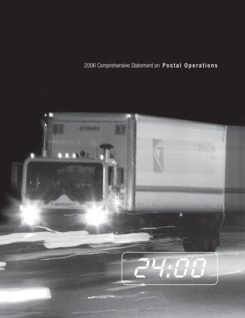 2006 Comprehensive Statement on Postal Operations - USPS.com ...