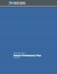 Annual Performance Plan - USPS.com