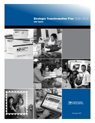 Strategic Transformation Plan 2006–2010 - USPS.com
