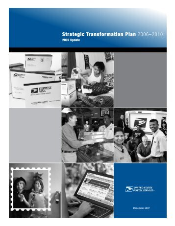 Strategic Transformation Plan 2006–2010 - USPS.com