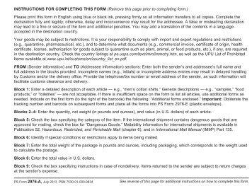 PS Form 2976-A - USPS.com
