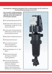 Funktionsweise des Taf-Filtersystems - Apic Filter Gmbh