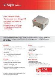 VITlightbattery - AOS Technologies AG
