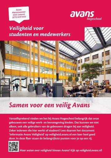 Veiligheid voor studenten en medewerker - Studentinfo - Avans ...