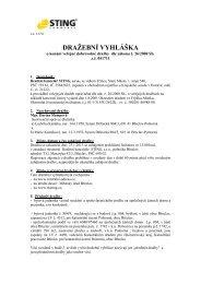 Dražební vyhláška DD 011 2012 - Sreality.cz