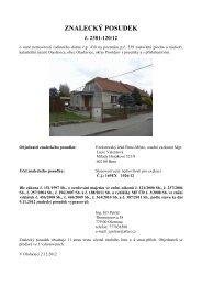 Znalecký posudek č. 2381-120/12 - Sreality.cz