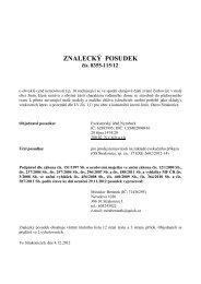 ZNALECKÝ POSUDEK - Sreality.cz