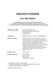 ZNALECKÝ POSUDEK číslo: 5090-180/2012 - Sreality.cz