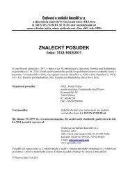 ZNALECKÝ POSUDEK číslo: 3122-1002/2011 - e-aukce